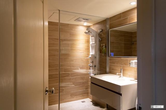 【大叔生活】2021 又是六天五夜的環島小筆記 (住宿篇) - 房間衛浴設施也符合簡單、舒適的期待
