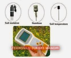 Multi-Parameter Soil Moisture Tester
