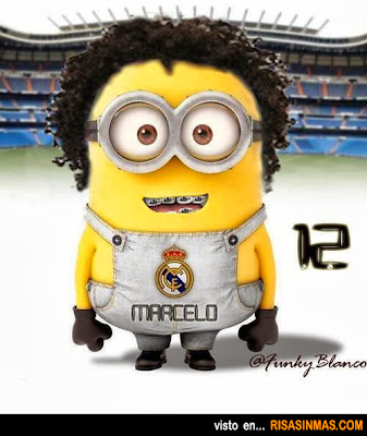 Minion de Marcelo Real Madrid