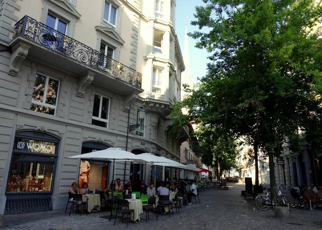 Hirschenplatz Niederdorf Quarter in Zurich Old Town