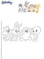 Pintar Baby Looney Tunes
