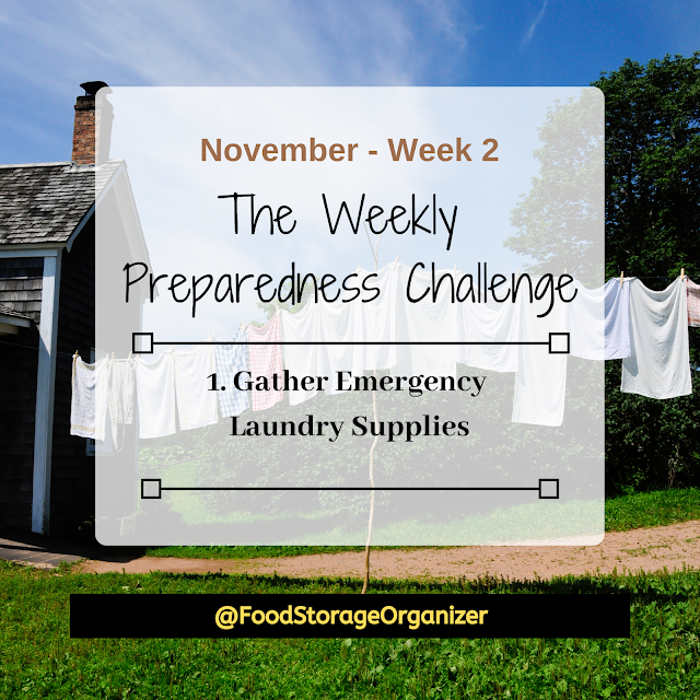 Preparedness Challenge - November Week 2