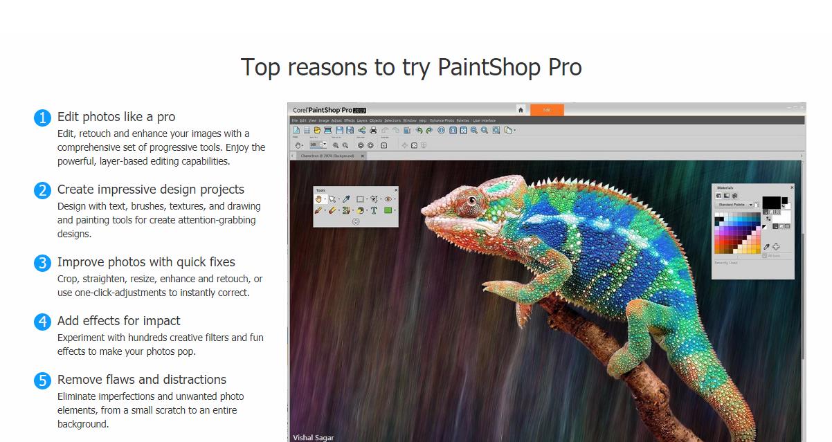 Alasan kenapa haru memilih PaintShop Pro