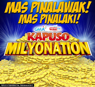 GMA 7 Kapuso Milyonation 2017, Philippines contest promos, Kapuso Milyonaryo
