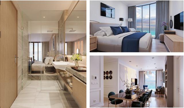 thiết kế nội thất căn hộ Condotel Wyndham Thanh Thủy