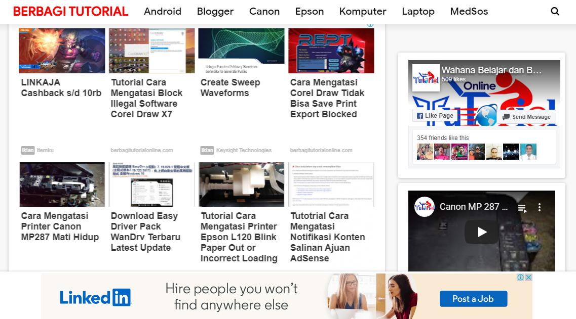 Iklan AdSense Matched Content