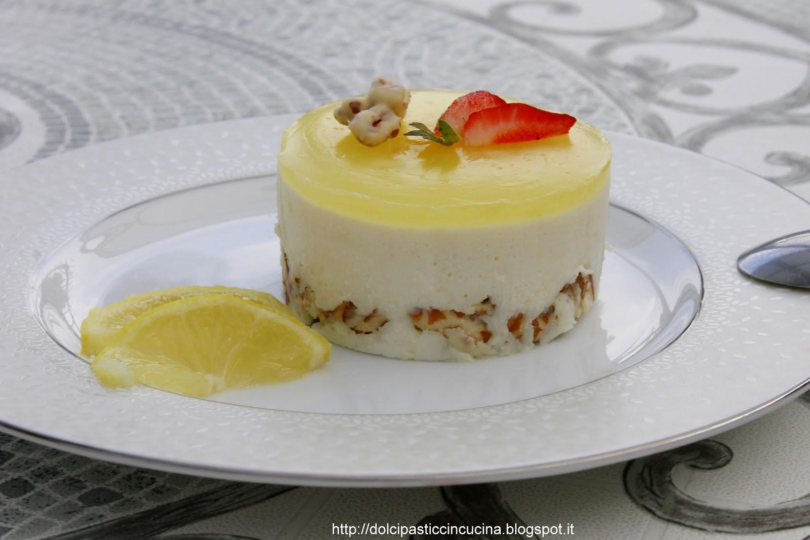 Top InCucinaColCuore: Cheesecake senza cottura al limone e cioccolato  WL01