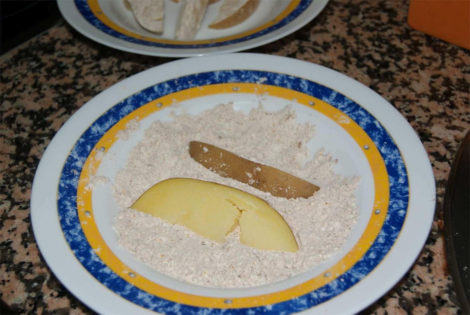 receta de patatas gajo o patatas deluxe paso 2