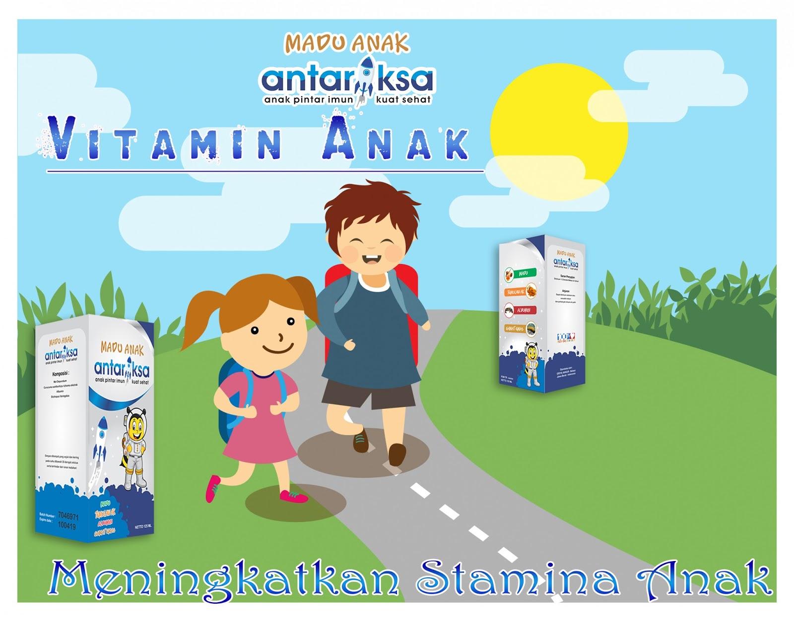 Vitamin Anak Sebagai Penambah Stamina