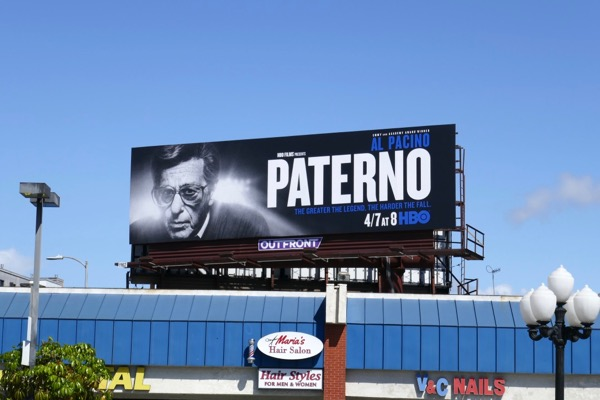 Paterno TV movie billboard
