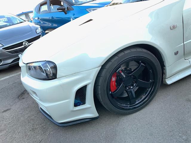 Nissan Skyline AP Racing Radi-CAL ll Brake Kit from Supertec