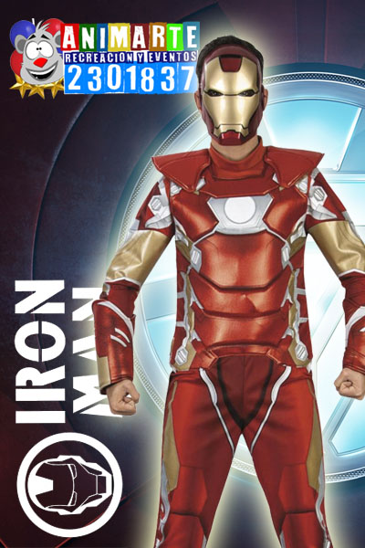 Iron Man en tu Fiesta Infantil