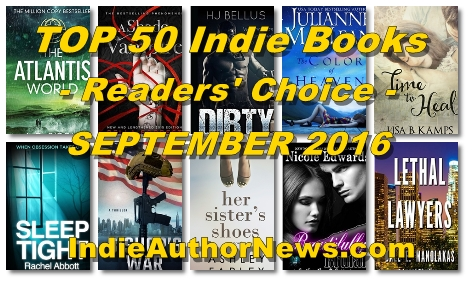Click here to CHECK OUT the TOP 50 Indie Books - Readers' Choice