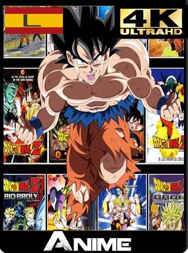 Dragon Ball Z (Películas) 4K 2160p UHDLatino [GoogleDrive]