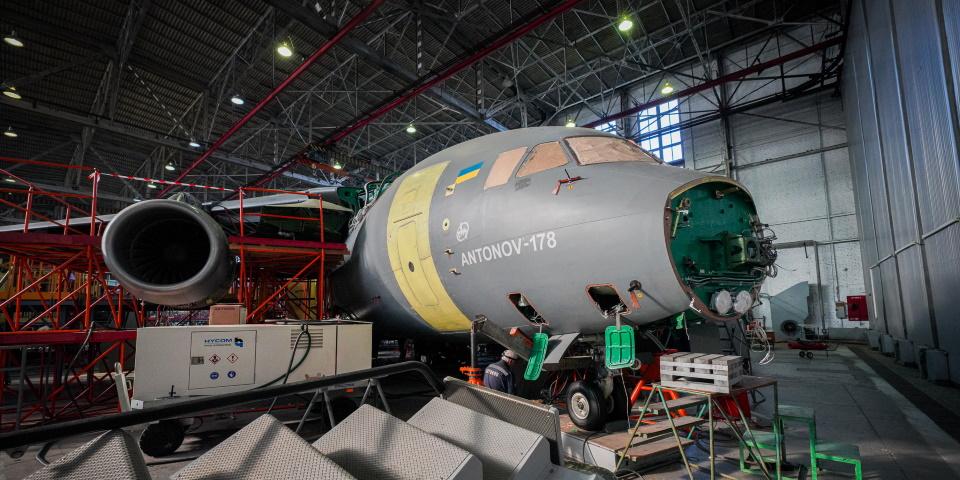Планер першого Ан-178 для ЗСУ готовий на 80%