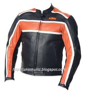 Gambar Jaket Kulit KTM Motor