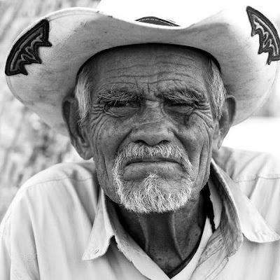 old Hispanic cowboy