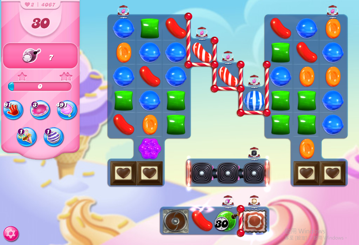 Candy Crush Saga level 4067