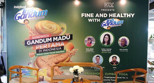 Indofood Inti Gandum cemilan sehat