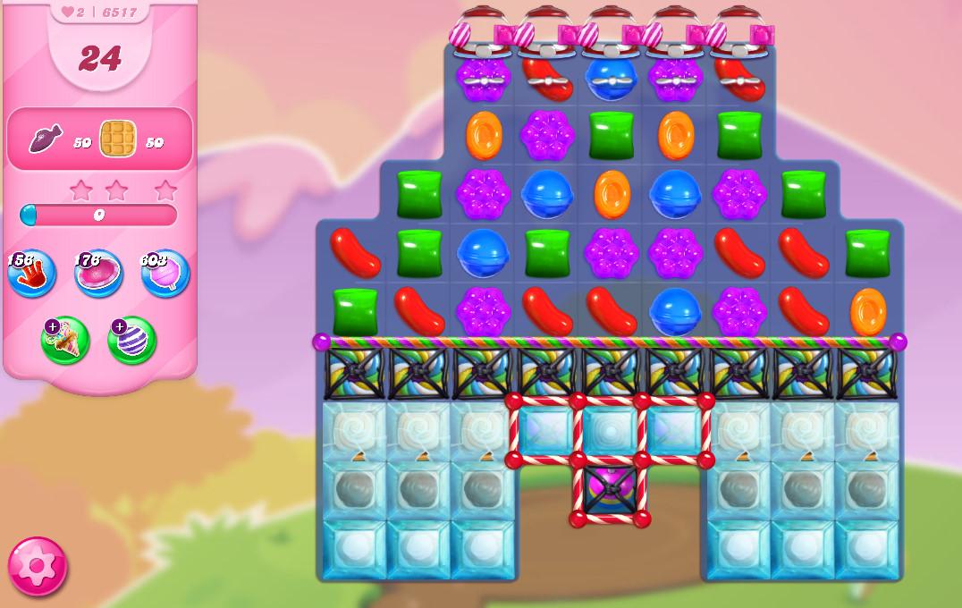 Candy Crush Saga level 6517