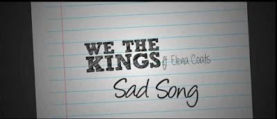 Sad Song dari We the Kings ft. Elena Coats, Sebuah Lagu tentang Kehilangan.jpg
