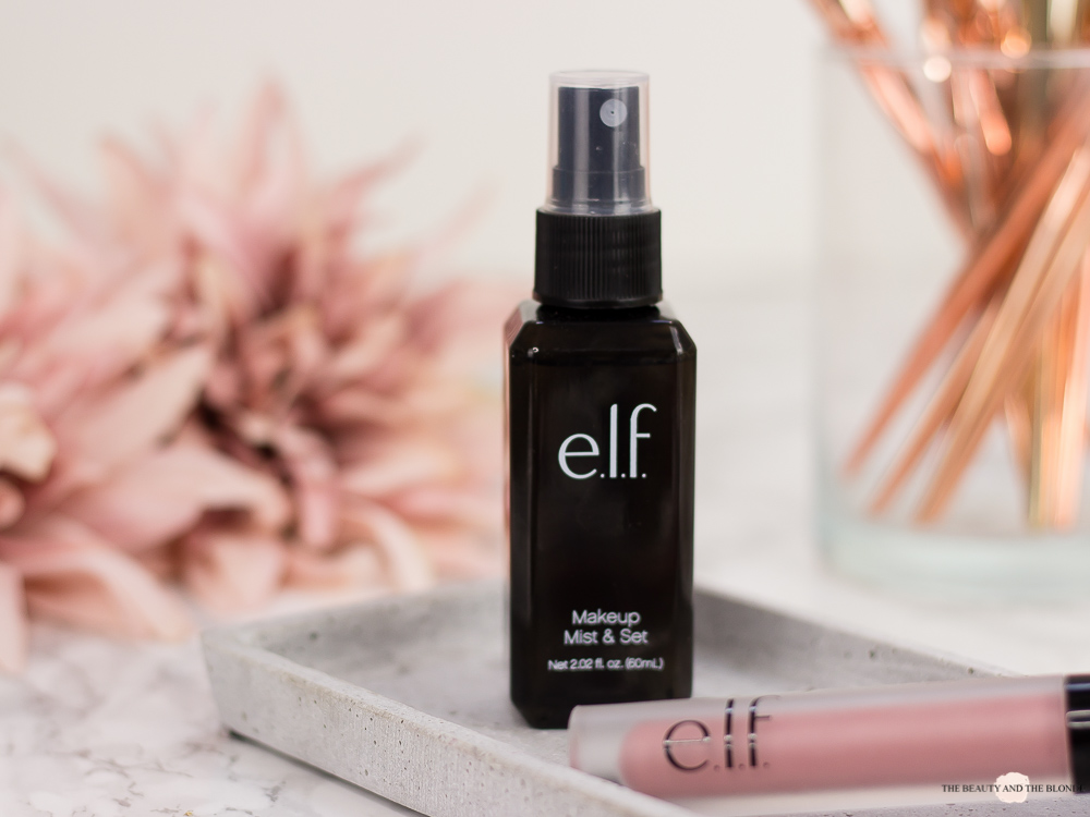 e.l.f. Cosmetics Make Up Mist & Set Settingspray Review