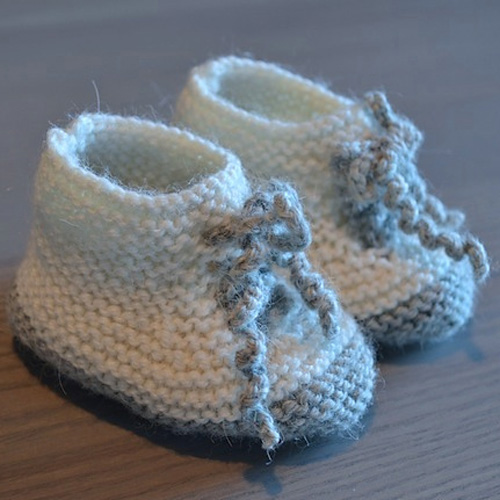 Cute Baby Booties Shoes - Free Pattern