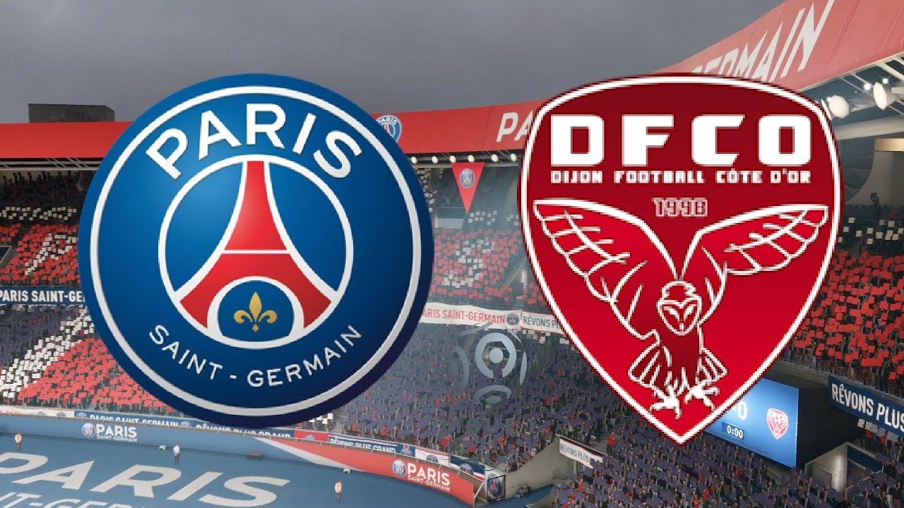 بث مباشر مباراة باريس سان جيرمان وديجون