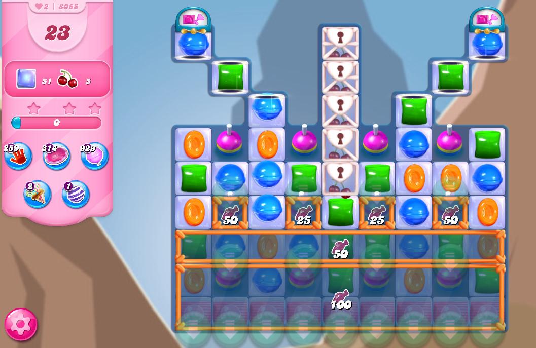Candy Crush Saga level 8055