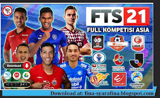Download FTS 21 Full Asia, MENPORA Cup, & SHOPEE Liga 1 Indonesia HD Graphic Update Kits Transfer