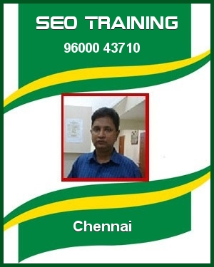 SEO Training in Chennai by Perambur Kumar