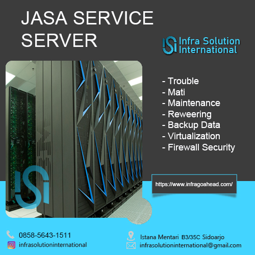 Jasa Service Server Kendari