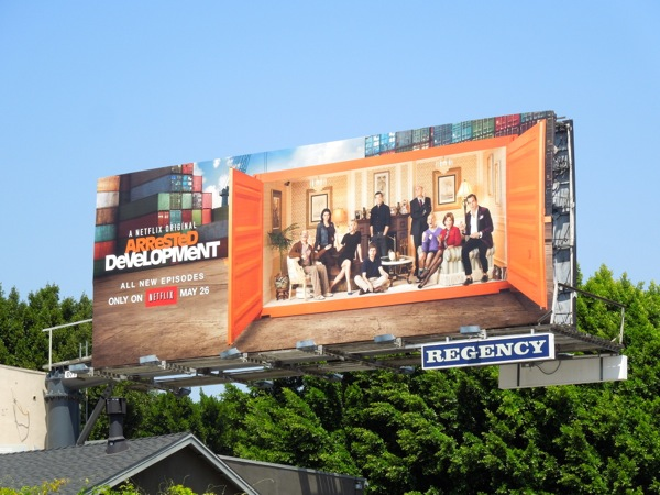 Arrested Development season 4 billboard