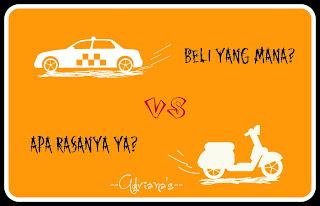 Pengendara Mobil vs Motor