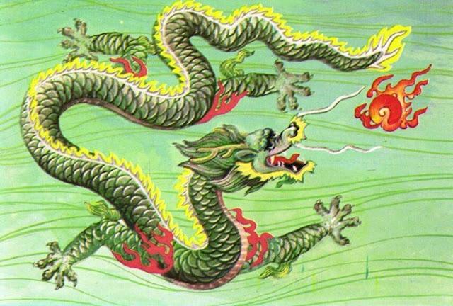 Rồng xanh (Thanh Long – 青龙) là một linh vật thuộc Tứ tượng đại diện cho mùa xuân của phương đông.