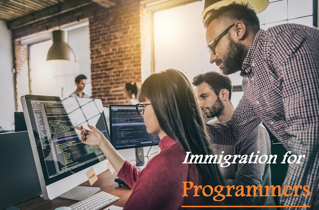 الهجرة للمبرمجين