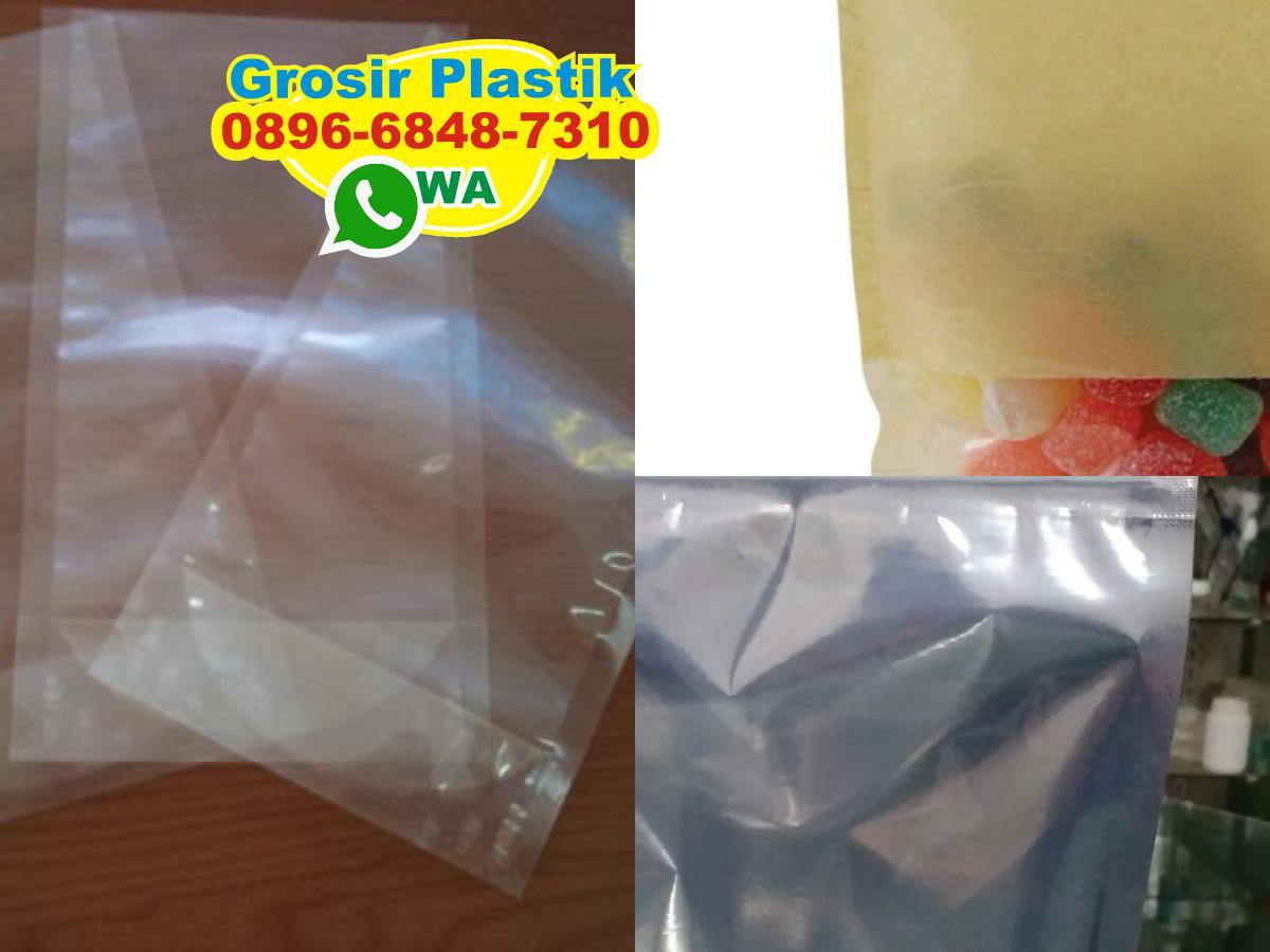O896 6848 731o Wa Standing Pouch Plastik Aluminium Foil Kombinasi Bening 250 Gram Tokopedia