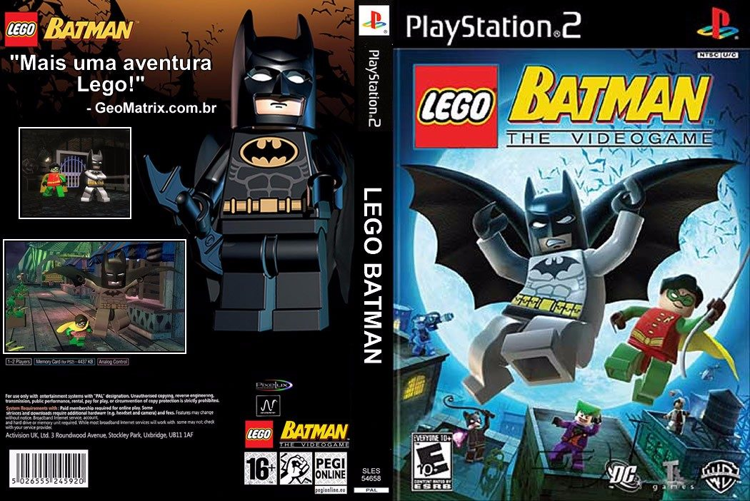 Zona Torrent Game: Lego Batman The Videogame PT-BR (ISO ...