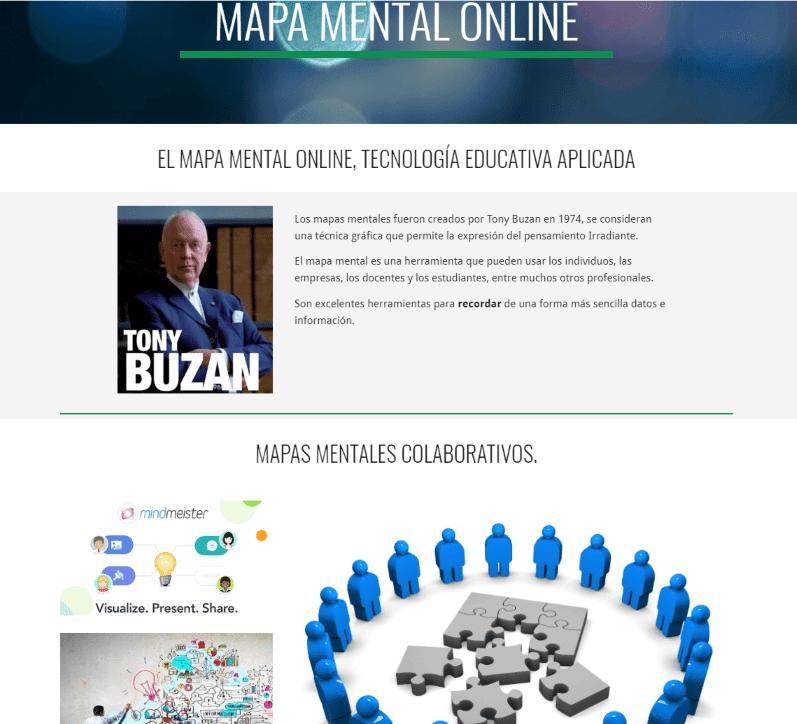 Infoweb Mapa Mental Online