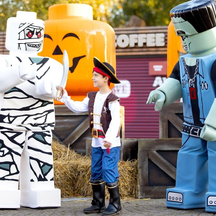 boy at Legoland Windosr