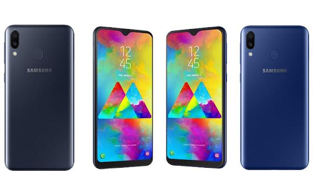 Desain Samsung M20