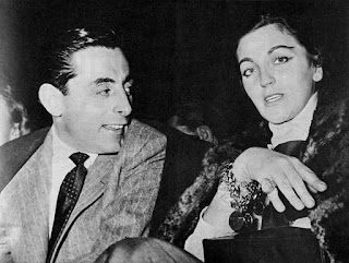 Coppi with Giulia Occhini, with whom he had an extra- marital affair that caused a national scandal in Italy