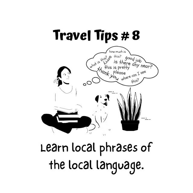 Travel Tip #8: Learn local phrases of the local language