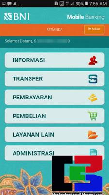 cara berhasil registrasi mobile banking BNI 2018