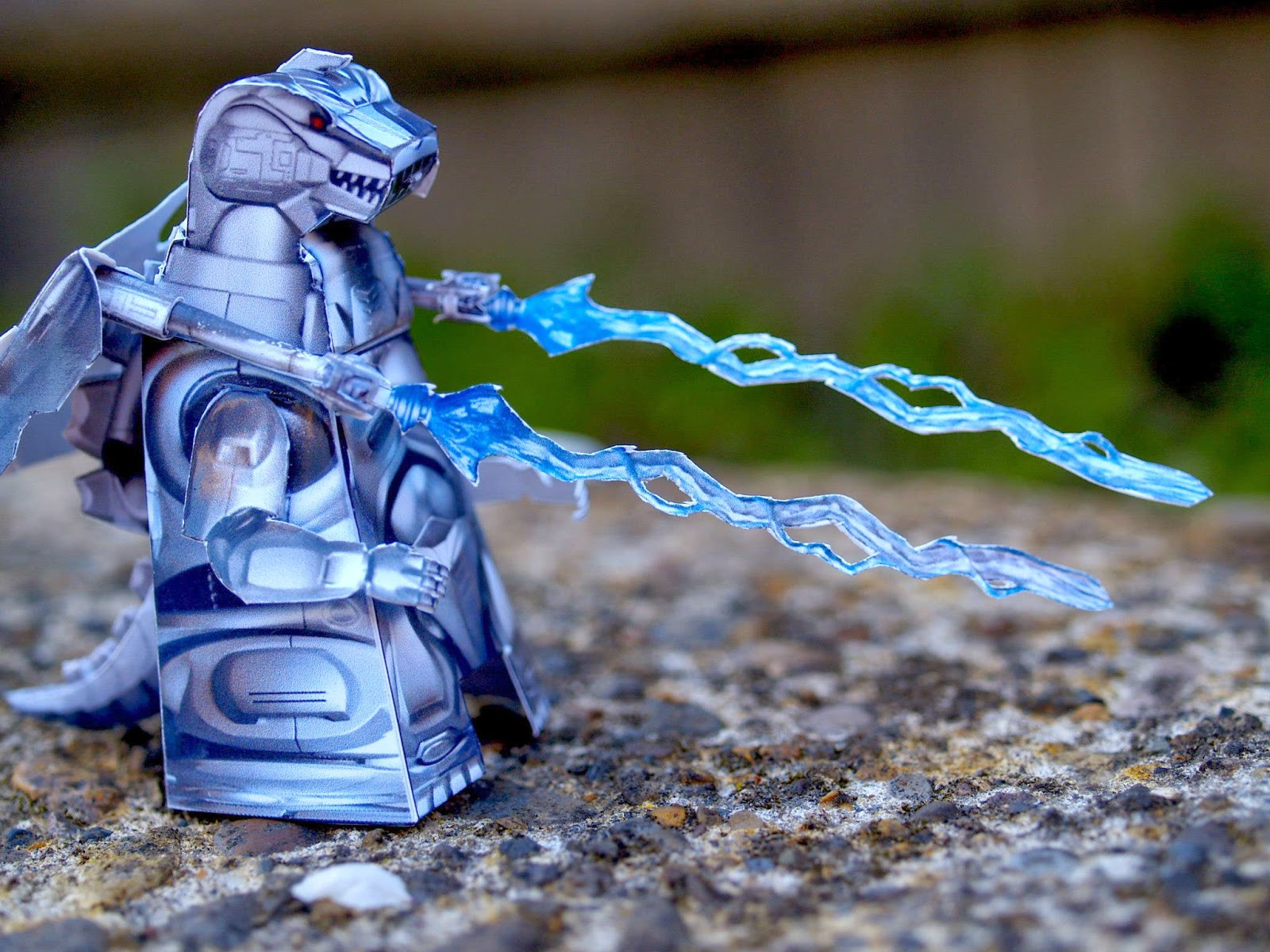 Mechagodzilla 93 Paper Toy
