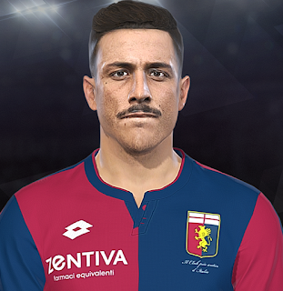 PES 2018 Faces Armando Izzo by Prince Hamiz