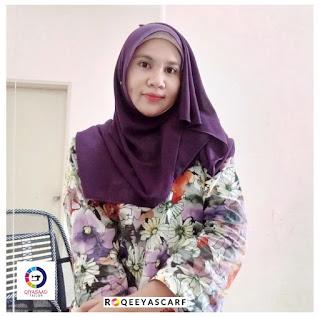 Shawl by Qiya Saad, bisnes shawl, jual shawl, kain shiffon, harga shawl, supplier shawl klang dan shah alam, shawl labuh, qiya saad tailor, jahit tudung, shawl Chiffon plain, roqeeyascarf, hijabista, wanita perempuan gadis isteri cantik tutup aurat, dark purple ungu warna color, selendang,