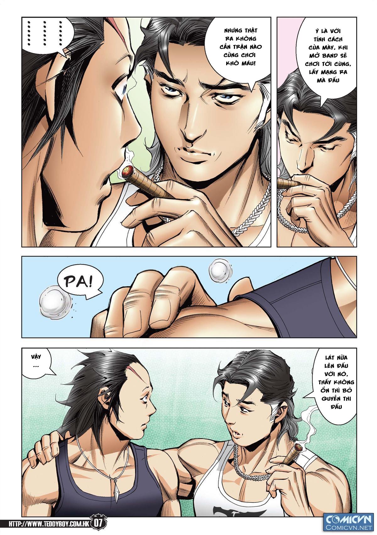 Người Trong Giang Hồ chapter 2148: tiểu mã vs gia đằng nhị trang 5