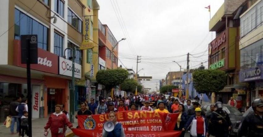 HUELGA DE MAESTROS: Docentes marchan en varias regiones y se registran disturbios