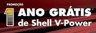 Cadastrar Promoção Shell V-Power Grátis 1 Ano